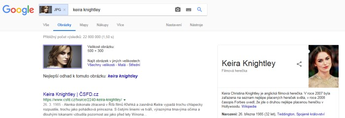 google keira knightley