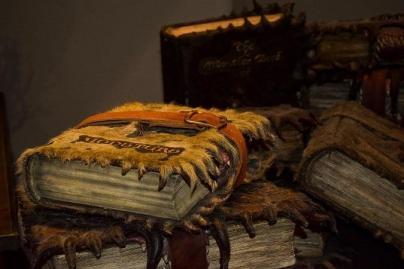 """""""I knew books bite"""" he said."""