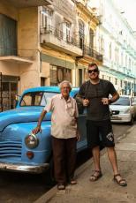 One of grandpas we met on the street
