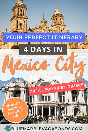 Pin for 4 days in Mexico City