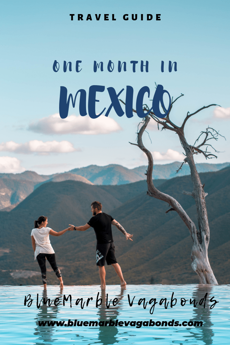 One month Mexico Itinerary