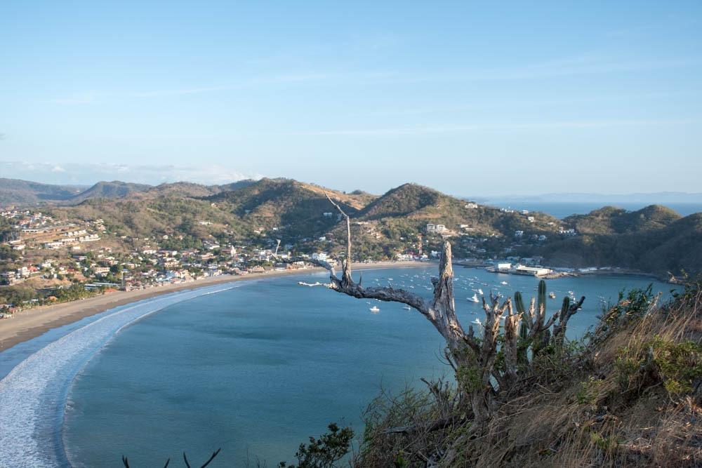 Pogled na San Juan del Sur
