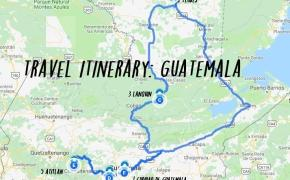 14 day Guatemala itinerary