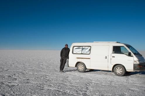 Potepuški nasveti za Salar de Uyuni - kombi 2WD je ok