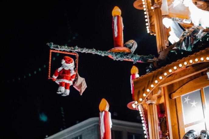 Božiček na trapezu