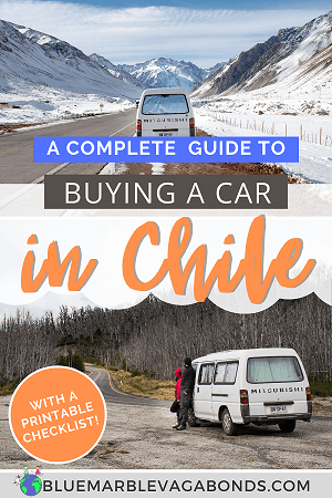 Pin for How to buy a car in Chile as a foreigner