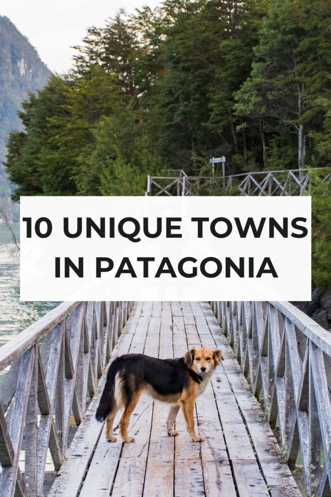 Towns in Patagonia