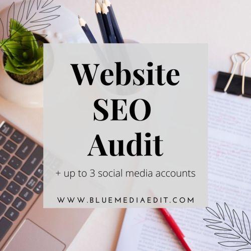 Website SEO Audit + 3 Social Media Accounts