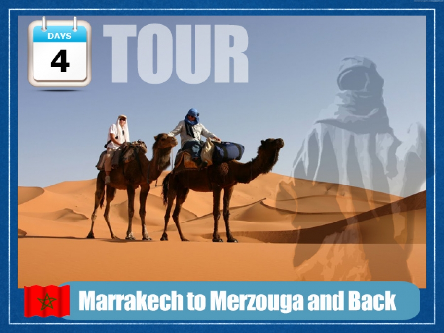 Marrakech to Merzouga and Back