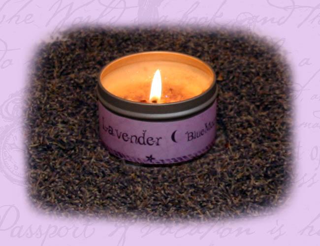 Lavender & Vanilla Organic candles