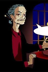 Nana the abusive fortune teller.