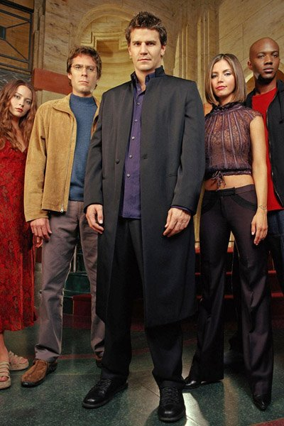 The cast of Angel.