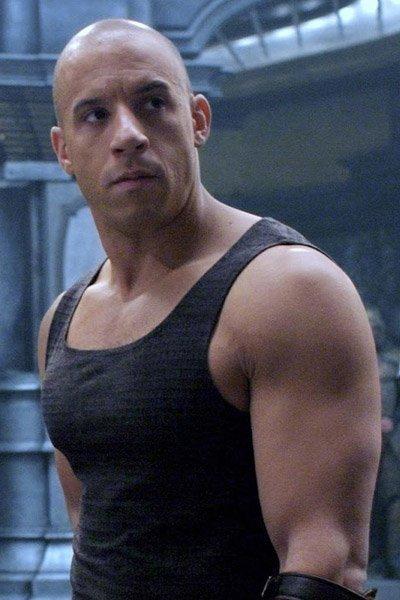 Vin Diesel as Riddick.