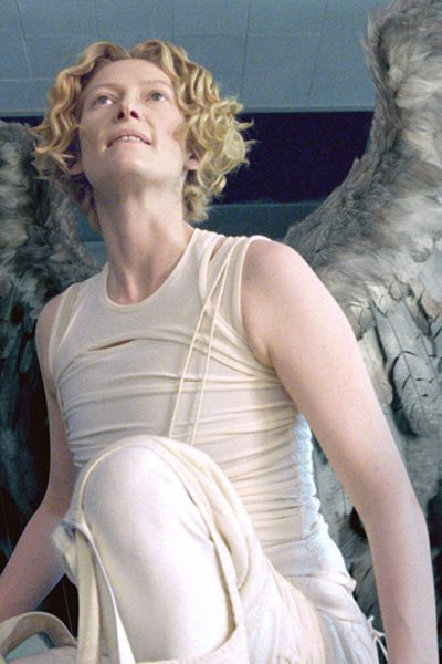 The lovely Gabriel, as played by Tilda Swinton.
