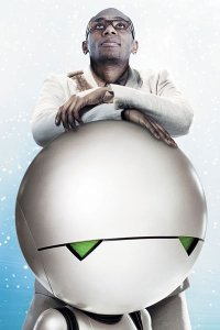 Mos Def as Ford Prefect and Marvin the Paranoid Android..