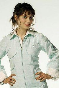 Zooey Deschanel as Trillian.