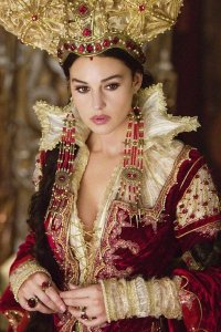 Monica Bellucci as The Mirror Queen.
