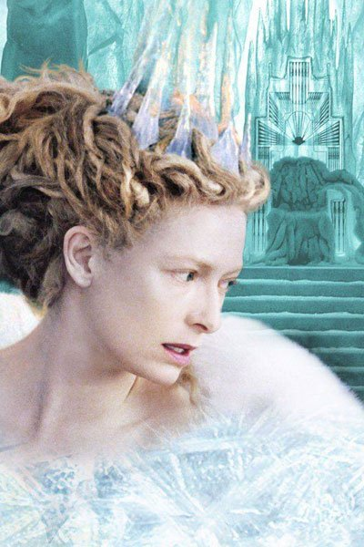 Tilda Swinton as the White Witch of Narnia.