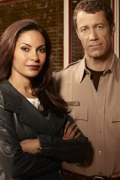 Colin Ferguson as Sheriff Jack Carter and Salli Richardson as Allison Blake