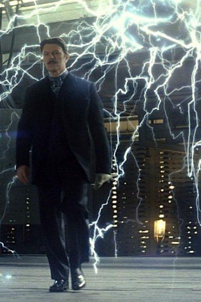 David Bowie as Nikola Tesla.