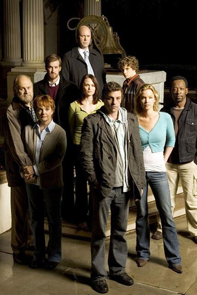 The cast of Jericho.