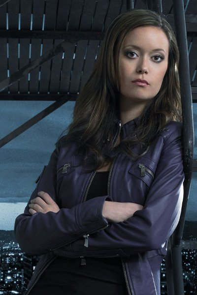 Summer Glau as the Terminator Cameron.