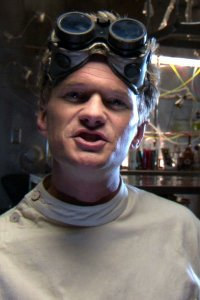 Neil Patrick Harris as Dr Horrible.