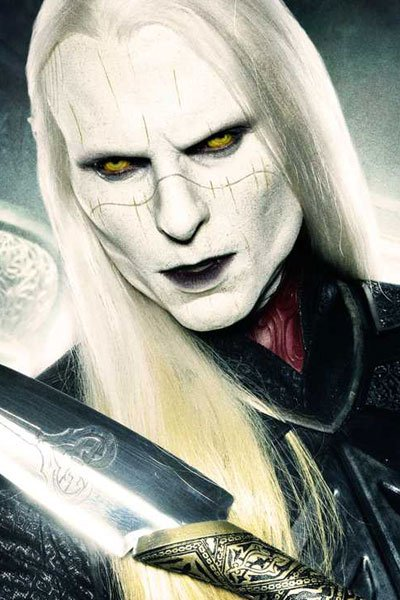Luke Goss as Prince Nuada.