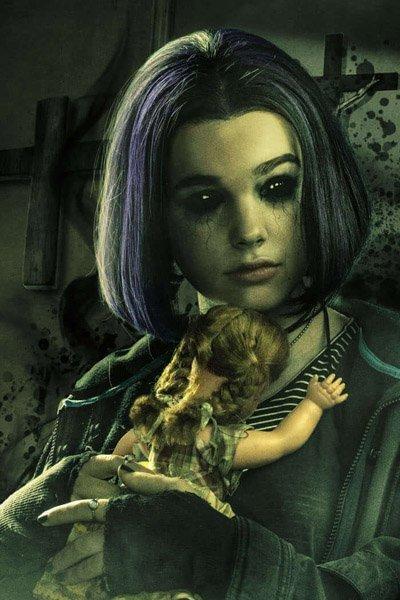 Teagan Croft as Raven / Rachel Roth.