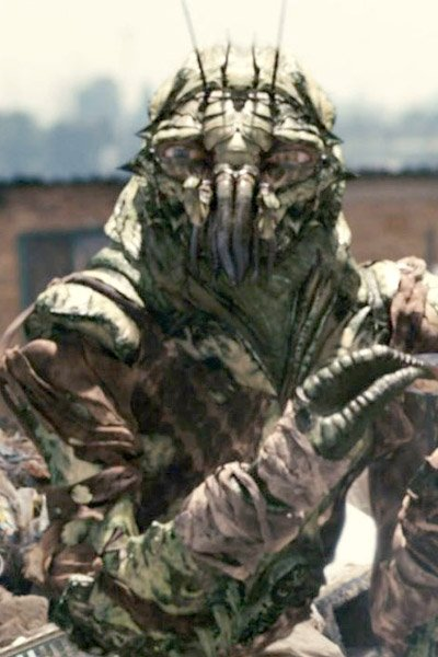 An alien? from District 9.