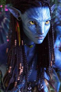 The free-spirited tribal princess and native hottie, Neytiri.