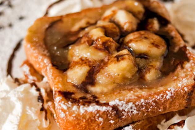 Italian French Toast Bananna Nutella - Blue Moon Grill Wakefield MA