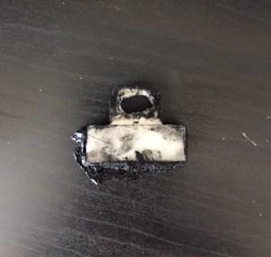 Cheap broken plastic window clip