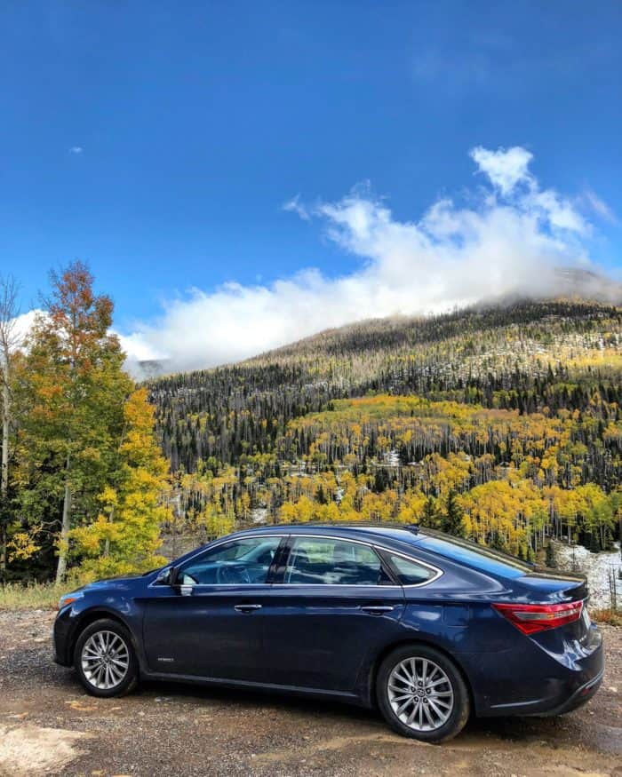 Toyota Million Dollar Highway Road Trip with the avalon #letsgoplaces