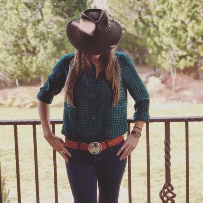 Blue Mountain Belle's Channing Morris Southwestern Style