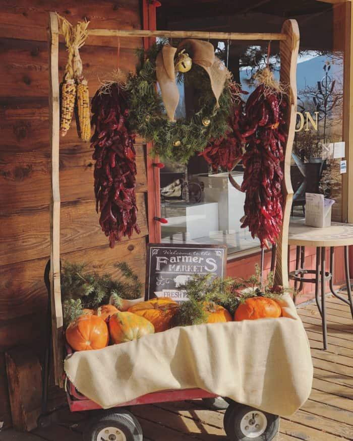 The Farmhouse Cafe, Taos New Mexico