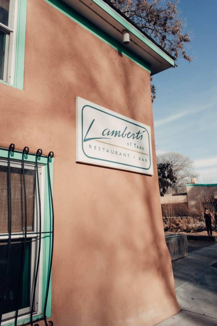 Lambert's Taos New Mexico Guide
