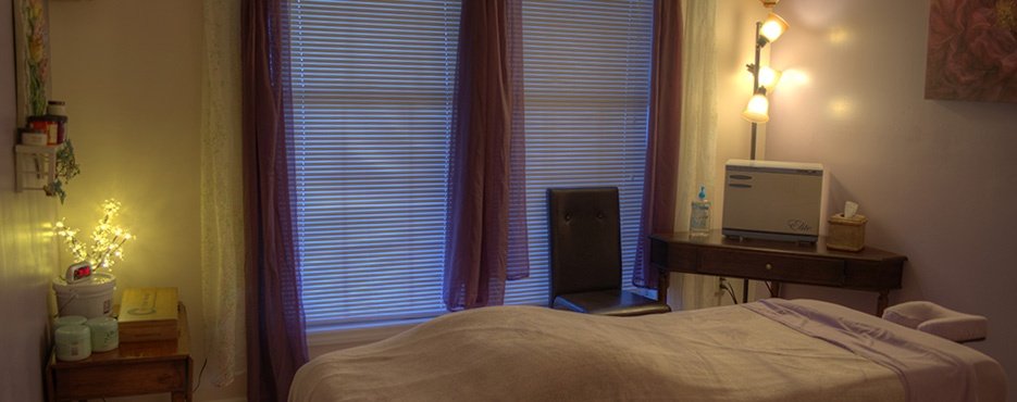Treatment room at sevierville spa