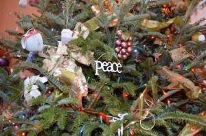 Blue Mountain Mist Christmas tree