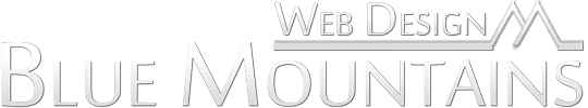 Blue Mountains Web Design Logo