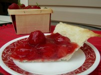 Strawberry Pie by the Bluenose Baker