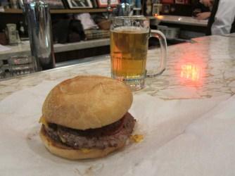 Billy Goat triple cheeseburger