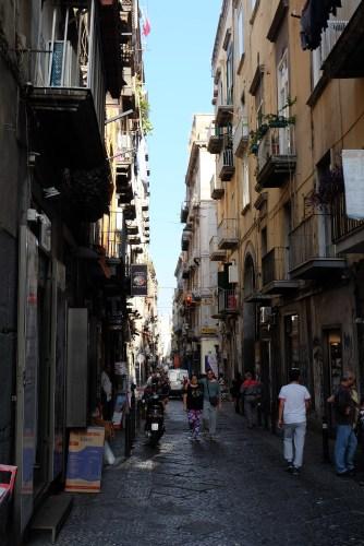 Street in Naples Centro Storico