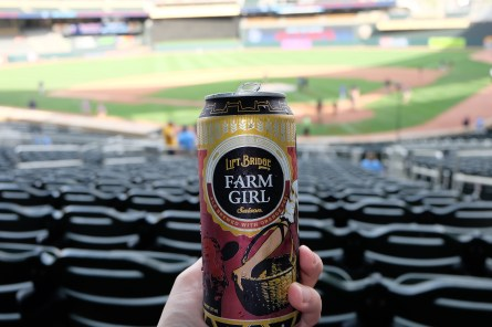 Farm Girl Saison at Target Field