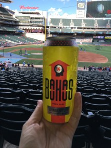 Bauhaus beer at Target Field