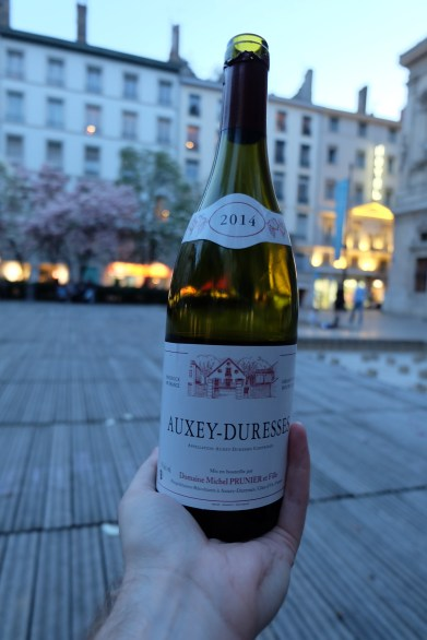 Picnic wine from Auxey Duresses
