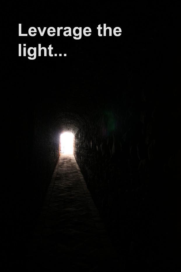 Seeing the light...
