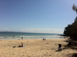 Noosa First Point Light N sunny