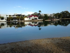 Noosa Sound Morning Glory.