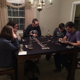 Things are getting serious for PegHead Kenneth Spond and crew while playing Death Angle